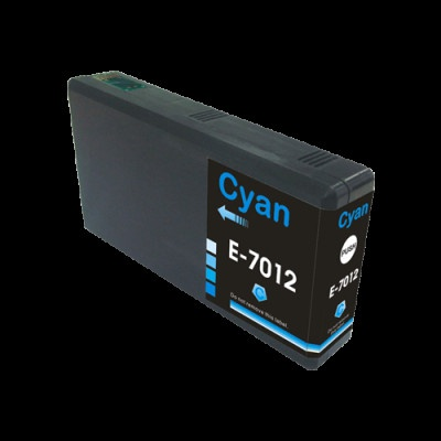 Epson T7012 azuriu (cyan) cartus compatibil