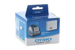 Dymo 11354, S0722540, 57mm x 32mm, alb, 1000 buc., rola etichete original