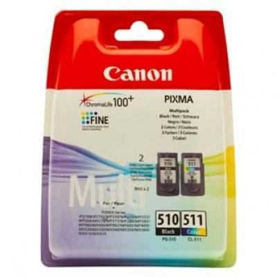 Canon PG-510 + CL-511 multipack cartus original