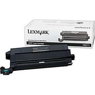 Lexmark 12N0771 negru (black) toner original