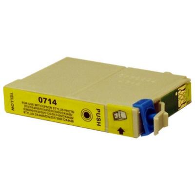 Epson T0714 galben (yellow) cartus compatibil
