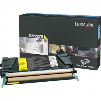 Lexmark C5222YS galben (yellow) toner original