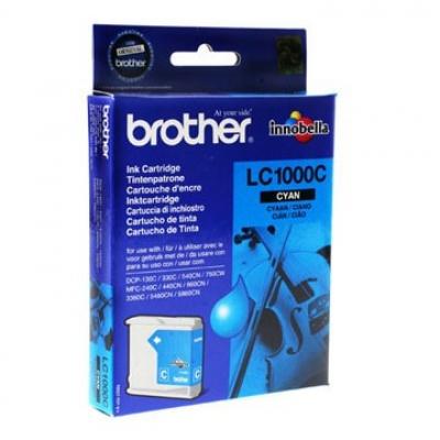 Brother LC-1000C azuriu (cyan) cartus original