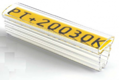 Partex PT+30015A acoperitoare 15 mm, 50 buc., (8,0-16,0 mm), PT husa etichete transparenta