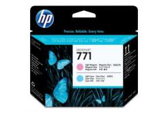 HP 771 CE019A, azuriu deschis / purpuriu deschis (light cyan / light magenta) cap de imprimare original