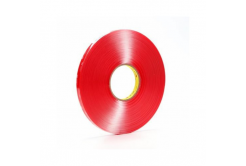 3M VHB 4910-F dublă faţă-verso bandă adezivă acrilică, transparent, 1 mm, 15 mm x 3 m
