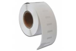 Banda compatibila Dymo 99010, 28mm x 89mm, alb, role