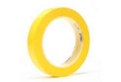 3M 471 Banda adeziva din PVC, 9 mm x 33 m, galben