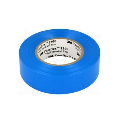 3M Temflex 1300 benzi electroizolante, 15 mm x 10 m, albastru