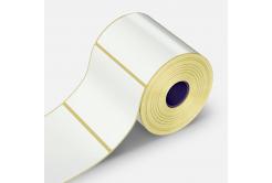 Etichete autoadezive 50x25 mm, 1000 buc, hartie, TTR, rola
