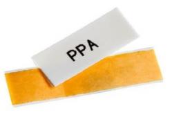 Partex PPA+09000SN4, 10m, galben, banda adeziva PPA+