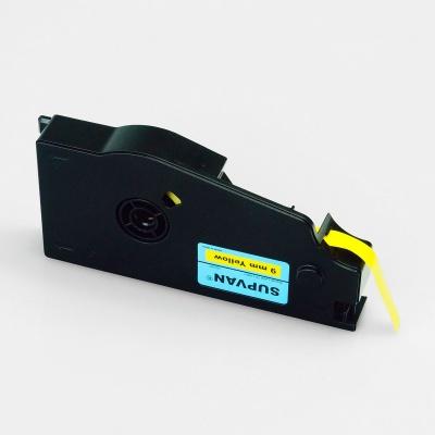 Bandă adezivă Supvan TP-L12EY, 12mm x 16m, galben