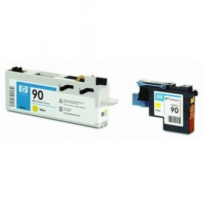 HP 90 C5057A galben (yellow) cap de imprimare original