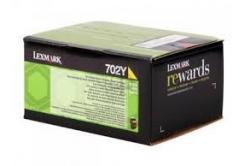 Lexmark 70C20Y0 galben (yellow) toner original