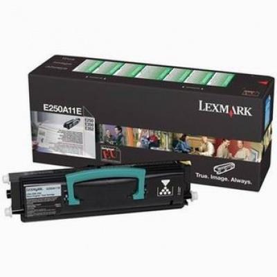 Lexmark E250A11E negru toner original