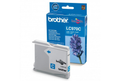 Brother LC-970C azuriu (cyan) cartus original