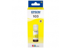 Epson cartus original C13T00S44A, 103, yellow, 65ml, Epson EcoTank L3151, L3150, L3111, L3110