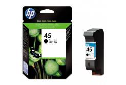 HP 45 51645AE negru (black) cartus original