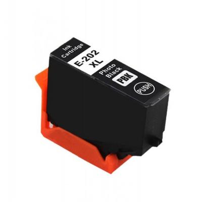 Epson 202XL T02H1 foto negru (photo black) cartus compatibil