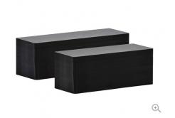 Evolis C8152 50x150mm card PVC, negru mat, 100buc.