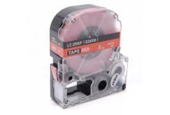 Epson LC-SD6RW, 6mm x 8m, text alb / fundal rosu, banda compatibila