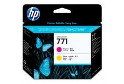 HP CE018A, 771 purpuriu/galben (magenta/yellow) original cap de imprimare