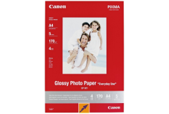 Canon MP-101 mate Photo Paper, hartie foto, mat, alb, A4, 170 g/m2, 5 buc, 7981A042