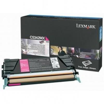 Lexmark C5342MX purpuriu (magenta) toner original