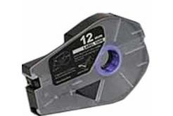 Bandă adezivă compatibilă pentru Canon M-1 Std/M-1 Pro / Partex, 12mm x 30m, kazeta, argint