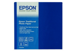 Epson S045050 Traditional Photo Paper, hartie foto, satin, alb, A4, 330 g/m2, 25 buc