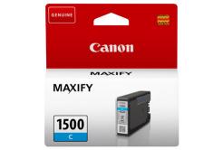 Canon cartus original PGI-1500 C, cyan, 300 pagini, 4.5ml, 9229B001, Canon MAXIFY MB2050,MB2150,MB2155,MB2350,MB2750,MB2755