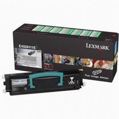 Lexmark E450H11E negru toner original