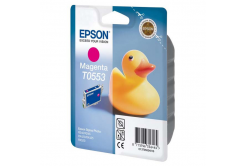 Epson T0553 purpuriu (magenta) cartus original