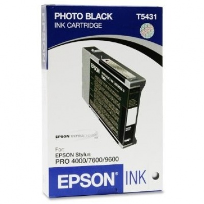 Epson C13T543100 negru (black) cartus original