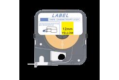 Max LM-309Y, 9mm x 8m, žlutá kompatibilní páska