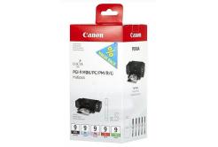 Canon PGI-9 1033B011,1033B013 matte black/photo cyan/photo magenta/red/grey, cartus original