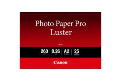 "Canon LU-101 Photo Paper Luster, hartie foto, lucios, alb, A2, 16.54x23.39"", 25 buc, 6211B026"
