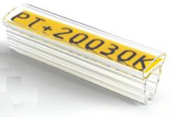 Partex PT+30018A acoperitoare 18 mm, 50 buc., (8,0-16,0 mm), PT husa etichete transparenta